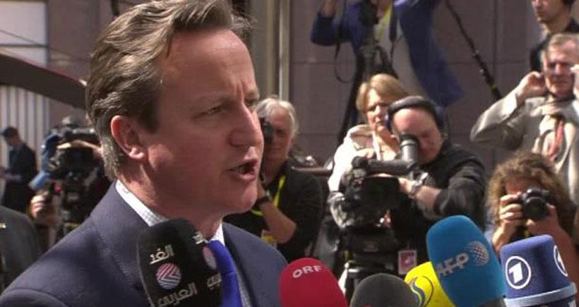 Cameron: Mültecileri kurtarırız ama İngiltere'ye götürmemek şartıyla