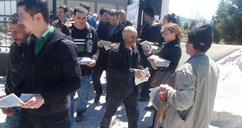 HDP Çorum milletvekili adayları işçileri 1Mayıs'a davet etti