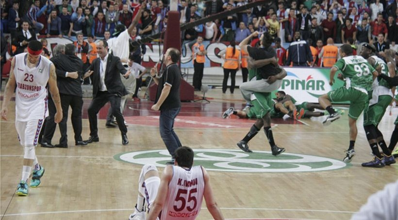 EuroChallenge'in şampiyonu Trabzonspor'u 63 - 64 yenen Nanterre oldu