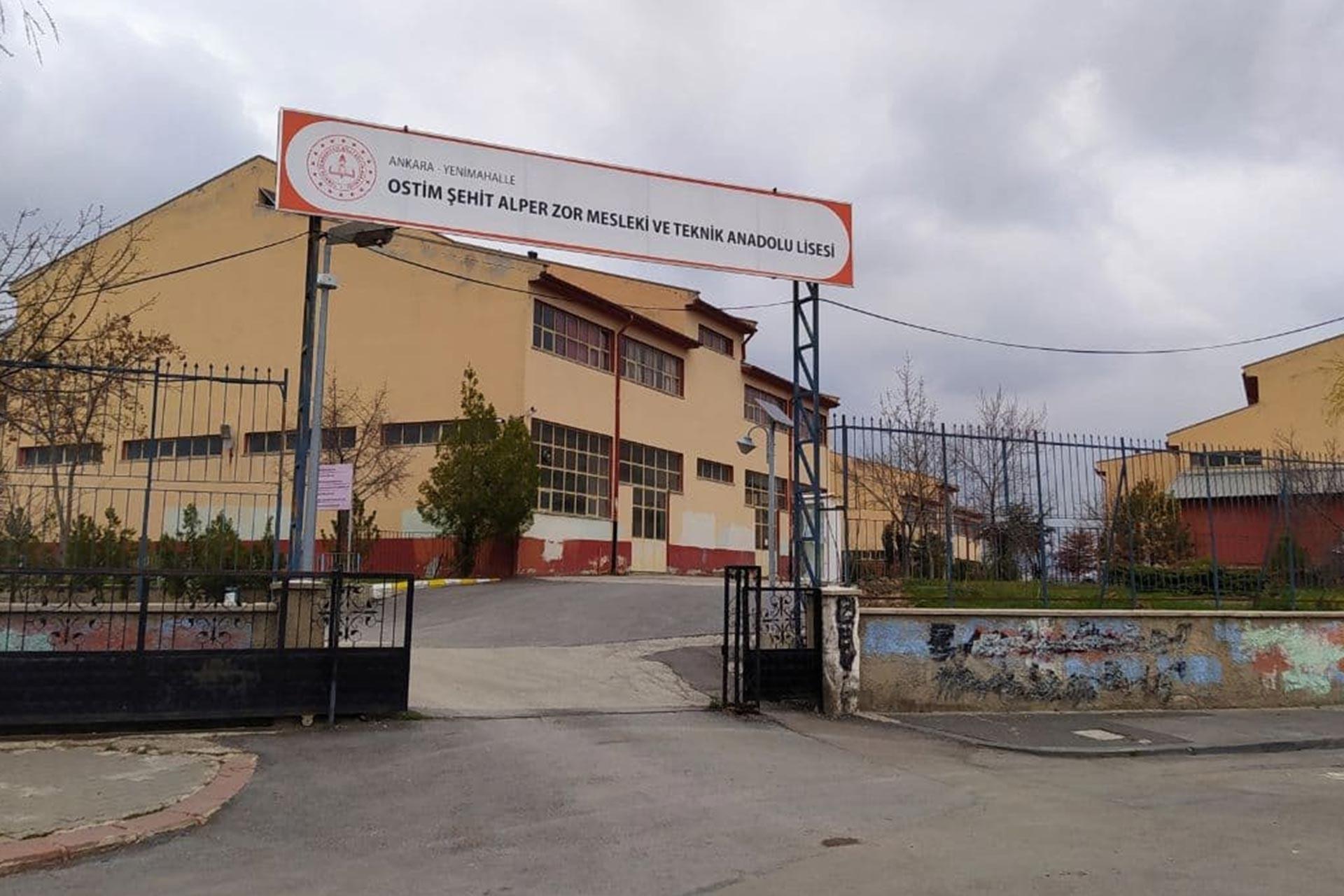 OSTİM Şehit Alper Zor Mesleki ve Teknik Anadolu Lisesi
