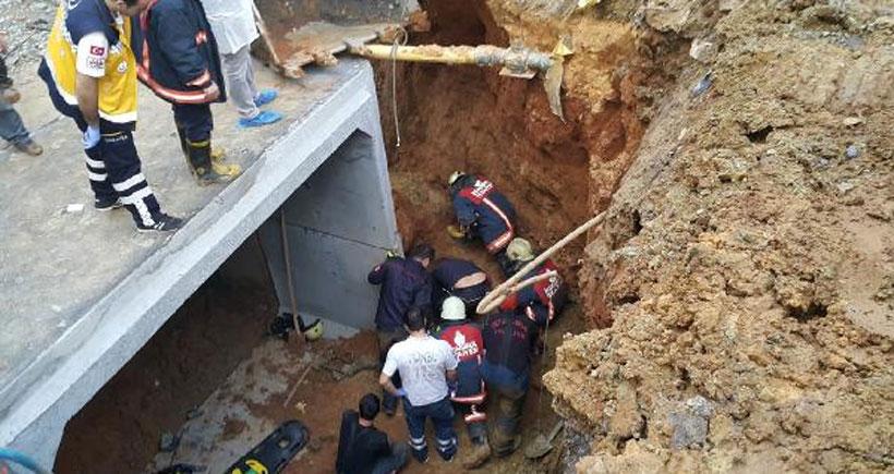 İSKİ kazısında göçük altında kalan işçi hayatını kaybetti
