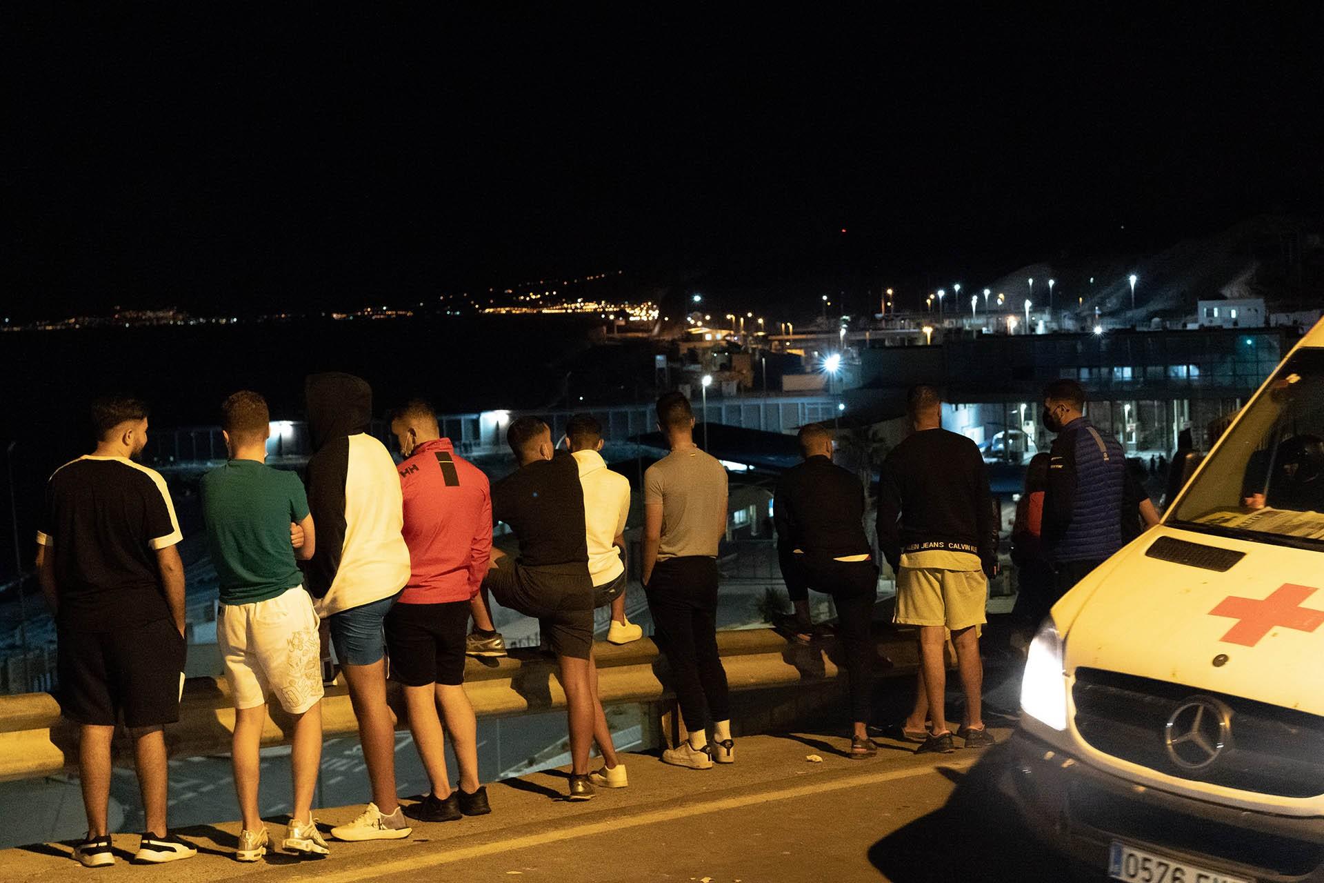 Refugiados que llegan a España