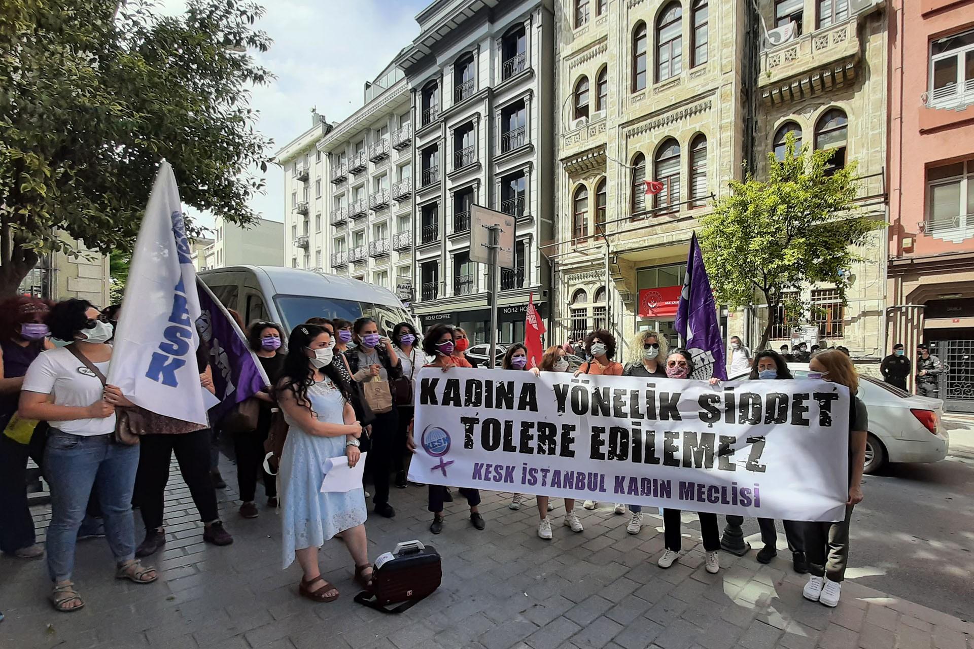 KESK İstanbul Kadın Meclisi açıklama yaptı