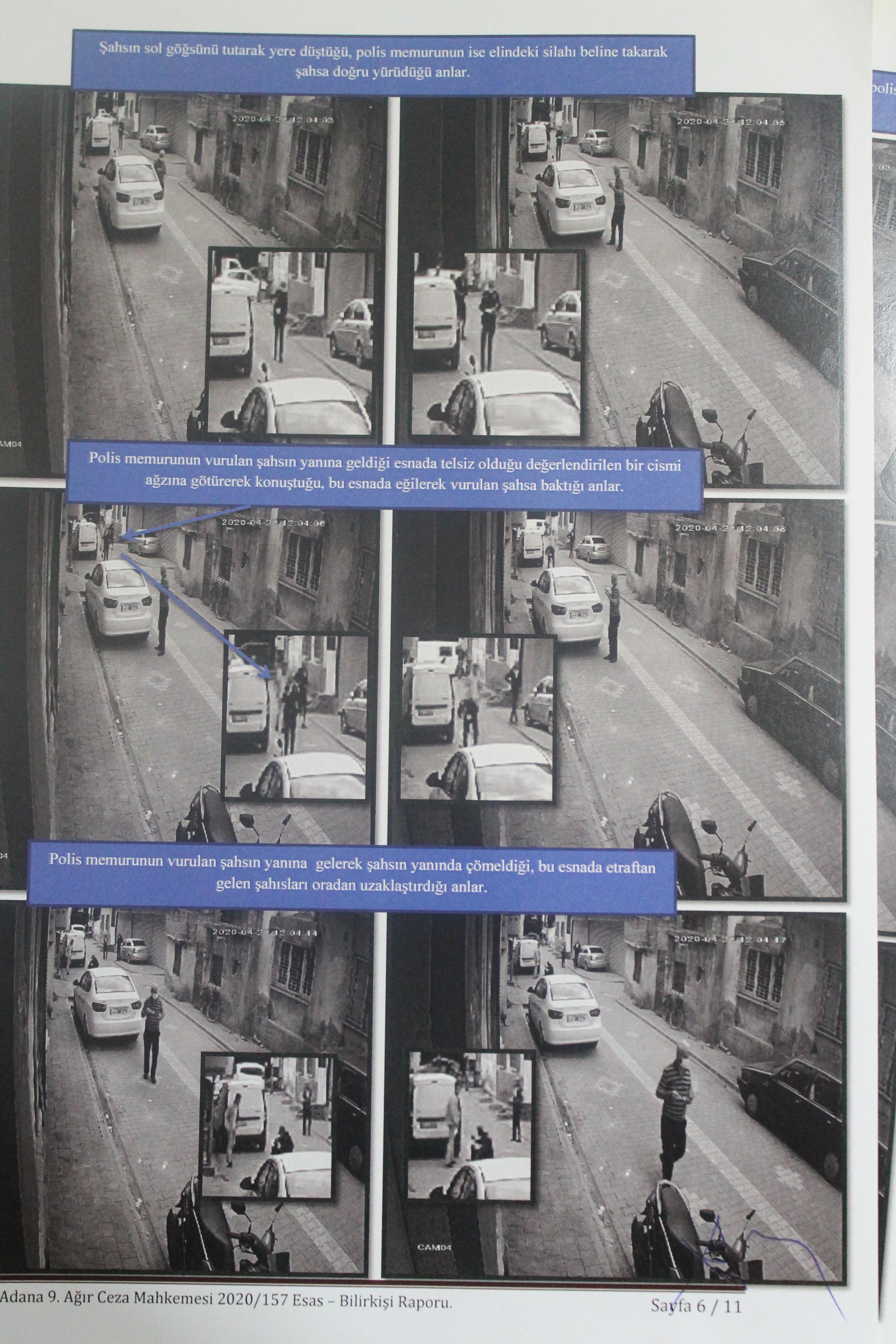 Ali El Hemdan'ın vurulduğu ana dair görüntüler