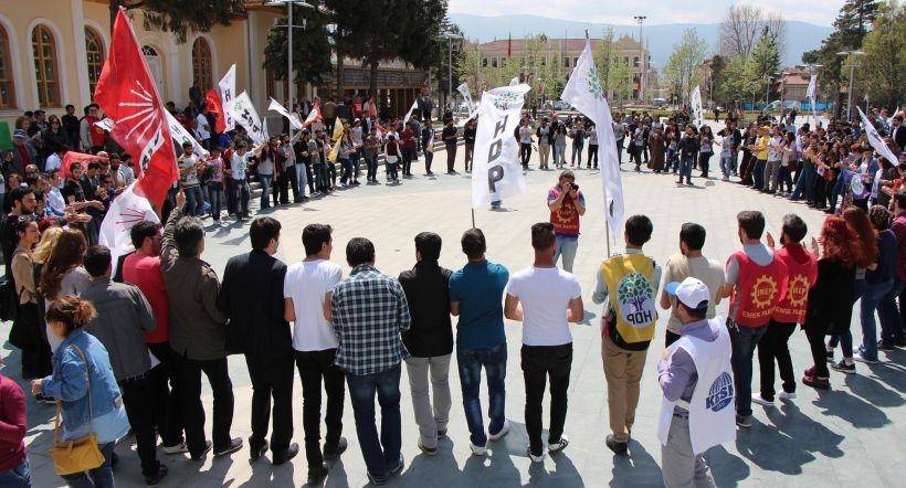 Bolu'da coşkulu 1 Mayıs
