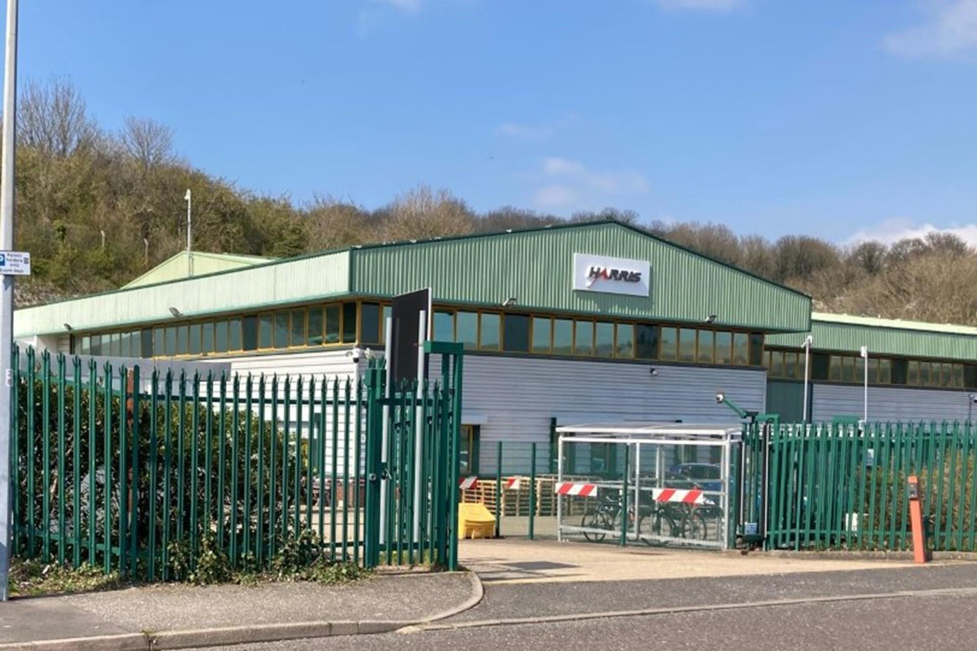 Harris şirketinin binası
