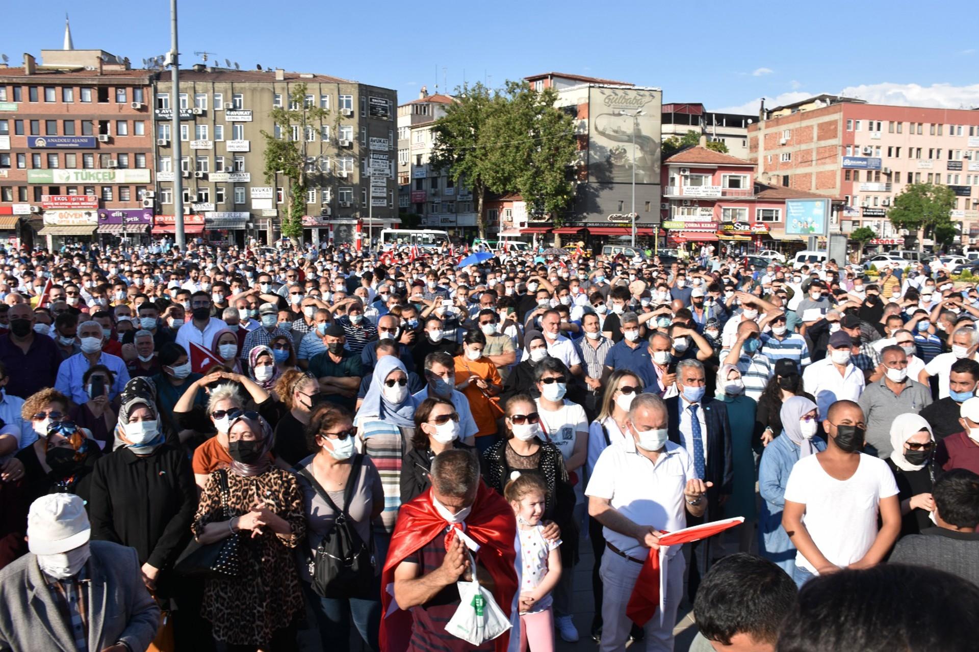 Kırıkkale MKEK işçileri eylem yaptı