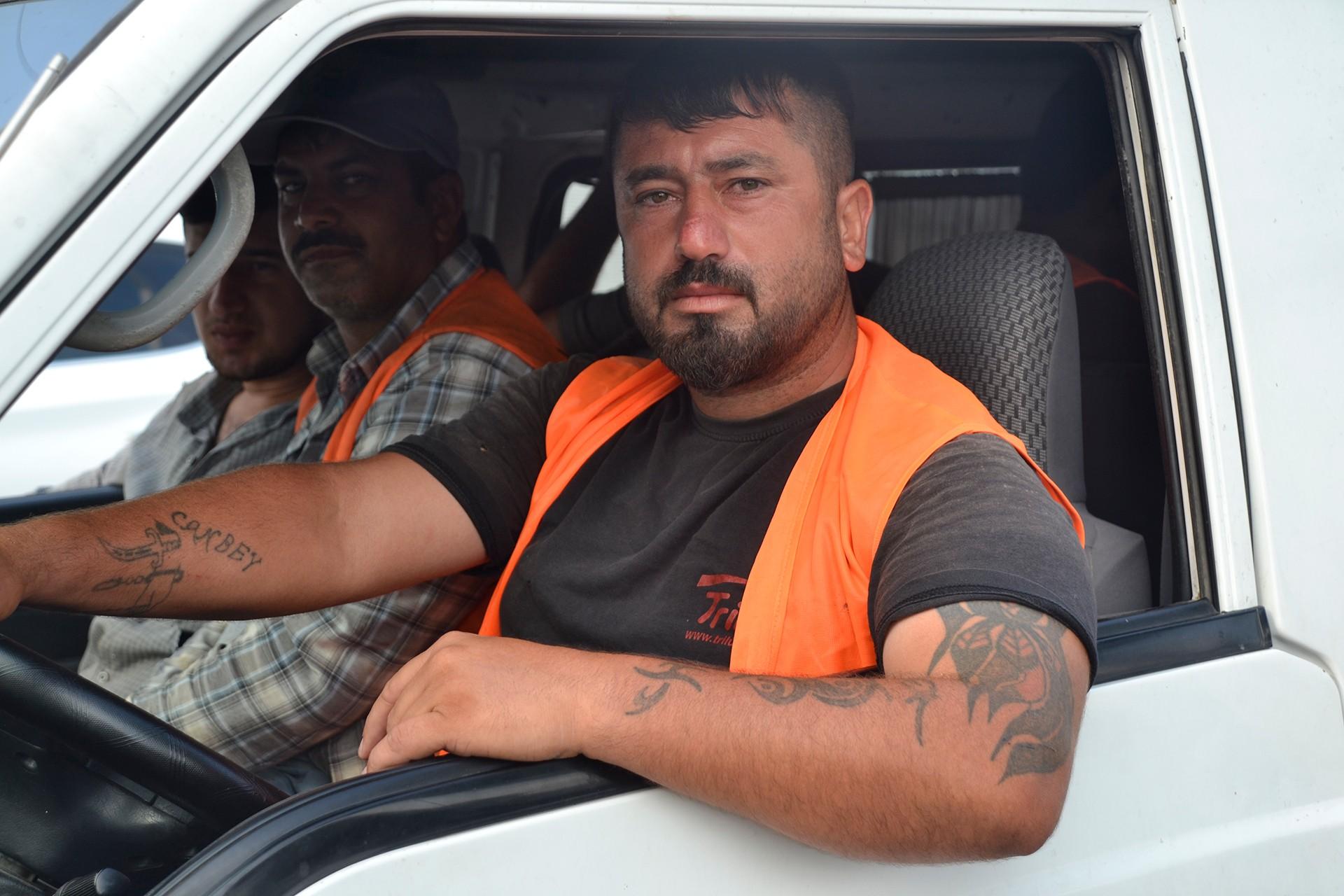Adana'da röportaj yaptığımız Recep Aslan isimli yurttaş.