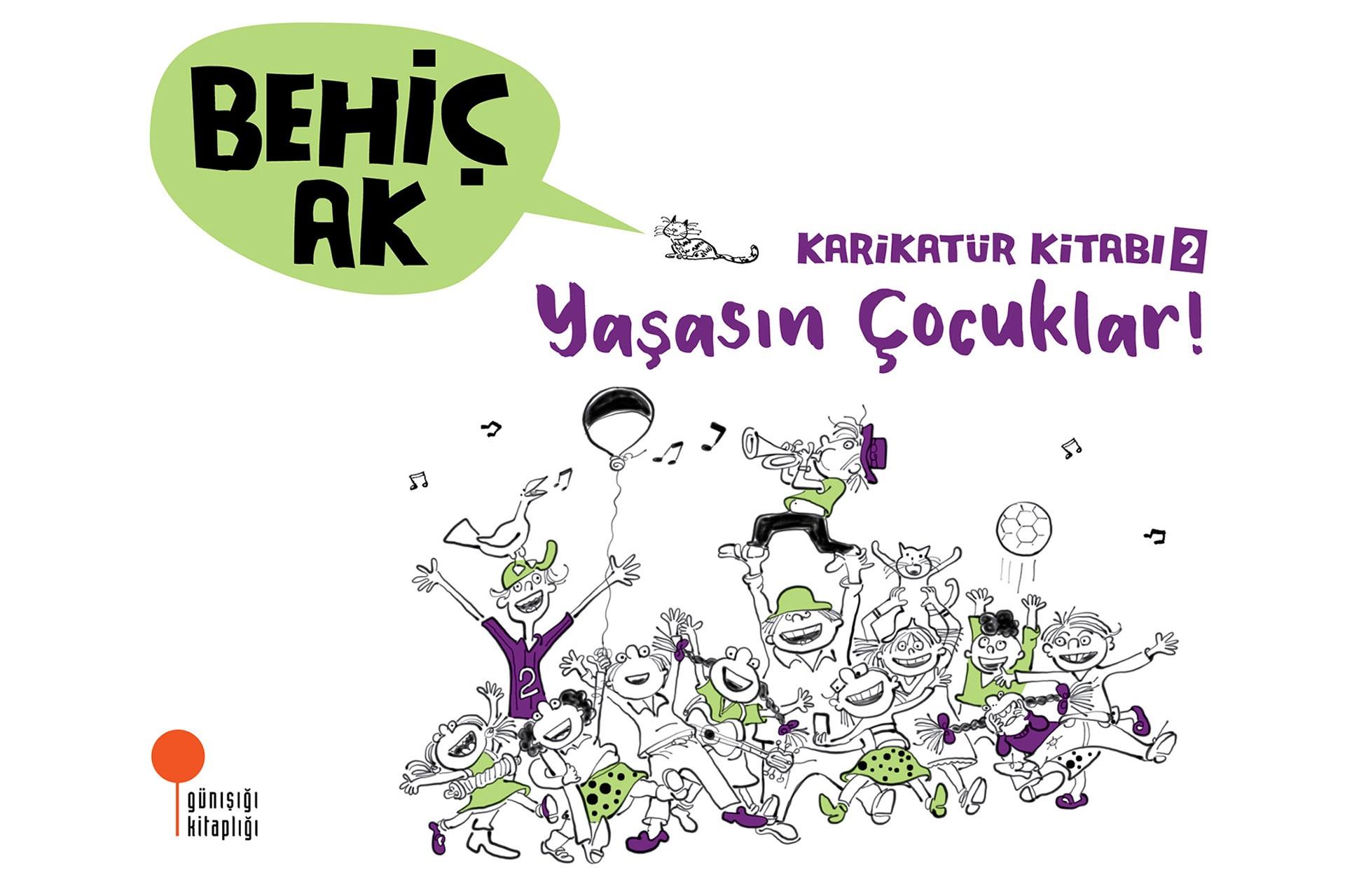 'Karikatür Kitabı 2 - Yaşasın Çocuklar' kitabının kapağı