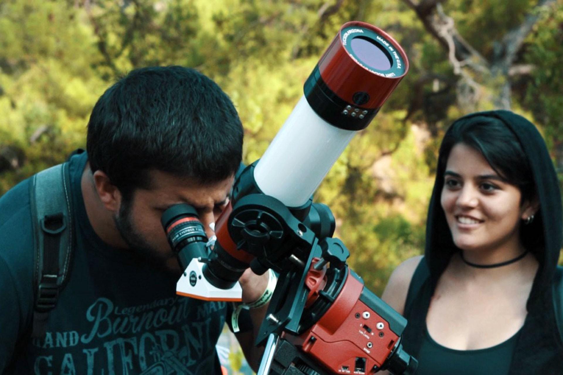 Teleskop, Olimpos Gökyüzü ve Bilim Festivali