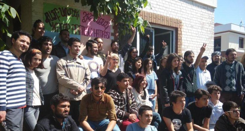Kamp Armen'de yıkıma karşı nöbet devam ediyor