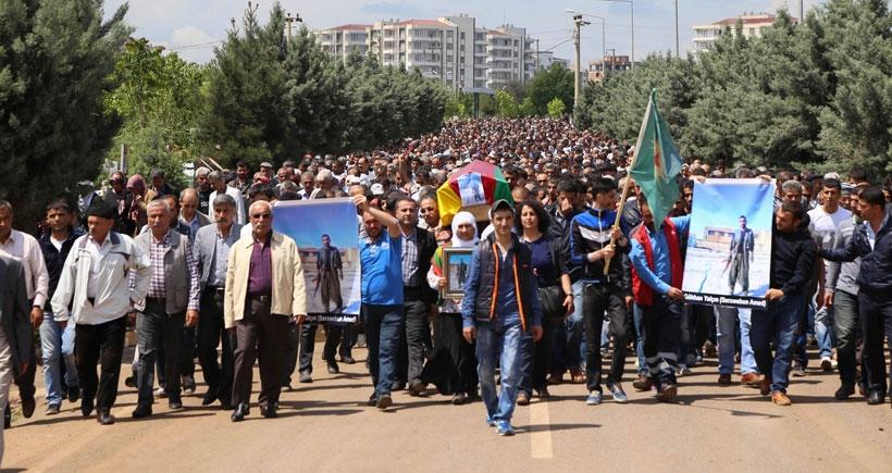YPG'li Yalçın'ın cenazesi toprağa verildi