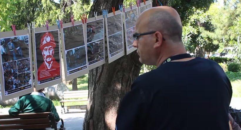 Cerrahpaşa'da Soma anısına fotoğraf sergisi