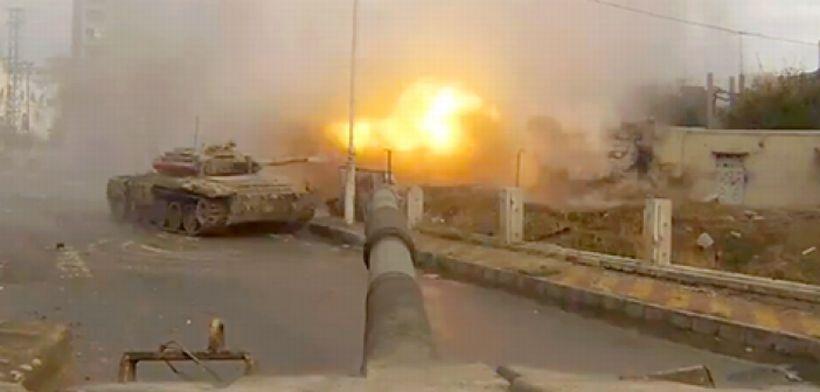 IŞİD, antik Palmira kentine saldırıyor