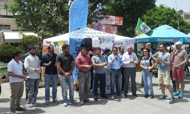 HDP'ye saldırıya ortak kınama