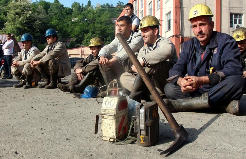 Grizuda ölen 30 madenciye 5'inci yılda anma