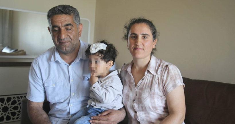 Gaz bombası fişeği ile yaralanan 2 yaşındaki bebeğin durumu iyi