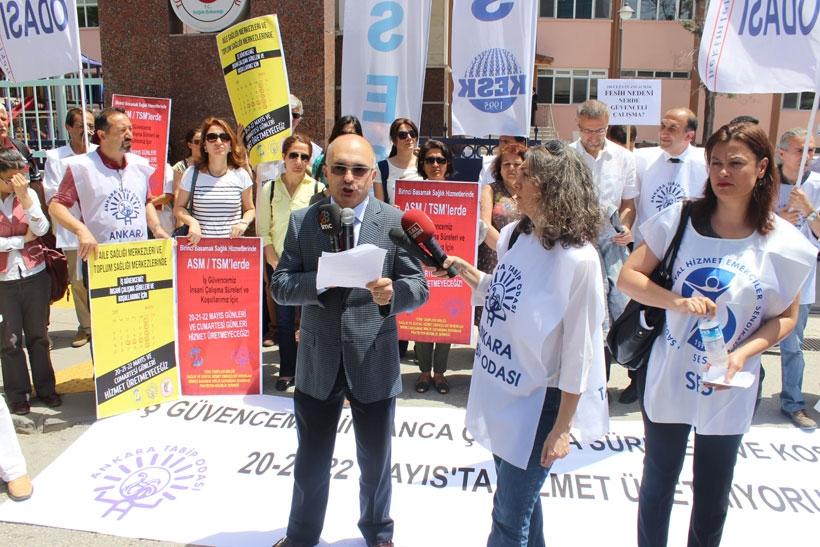 ASM Çalışanlarının 3 günlük grevi başladı: 'Ölene kadar çalış' dayatması