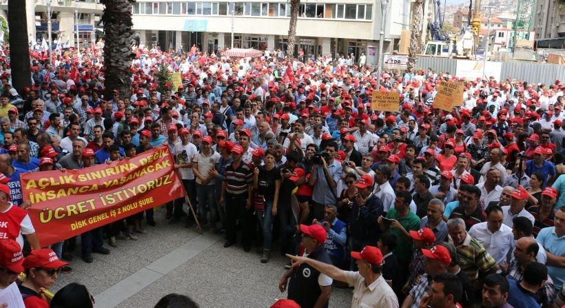 İZENERJİ işçilerinden grev uyarısı