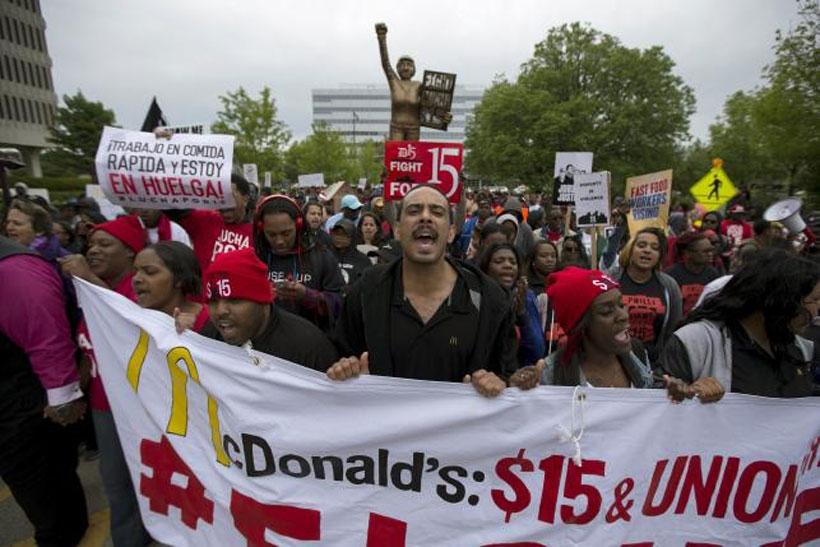 ABD'de asgari ücret isyanı sürüyor