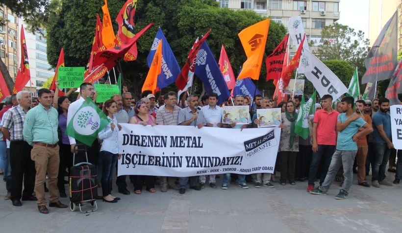 'Metal işçisi kazanırsa hepimiz kazanacağız'