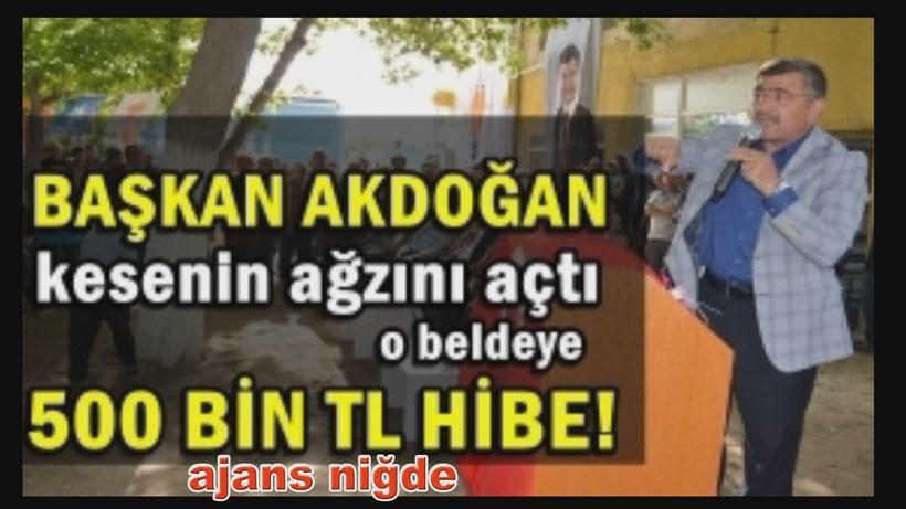 AKP'li belediyeden 'AKP'ye en fazla oy veren beldelere 500 bin TL' vaadi