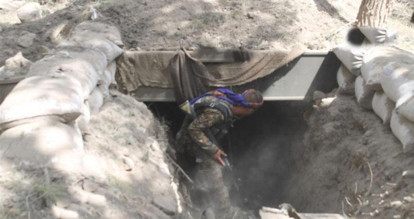 YPG'nin IŞİD'den temizlediği Abdulaziz dağından görüntüler yayınlandı