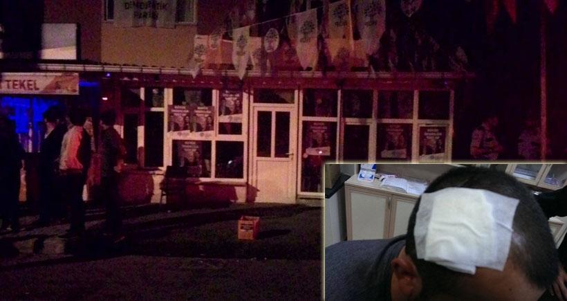 Isparta'da HDP'li öğrencilere saldırı: 2 yaralı