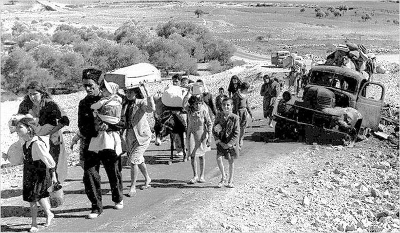 Filistinlilerin  çatı katındaki  Nakbaları