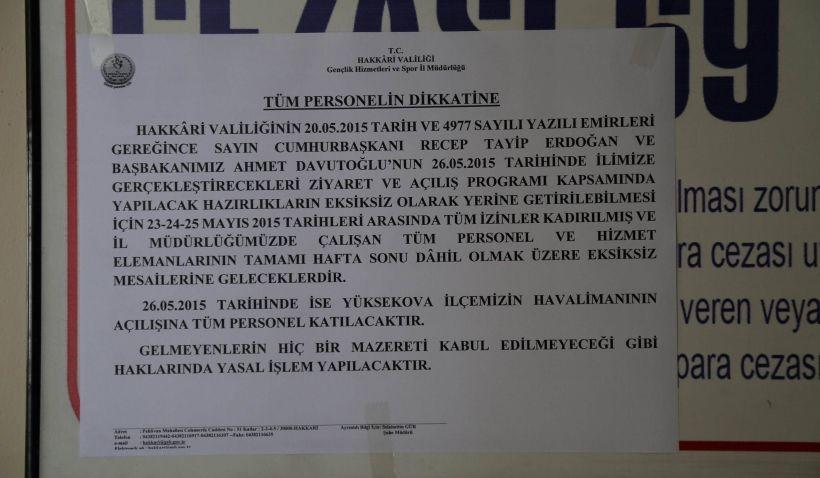 AKP mitingine katılım için tehdit, soruşturma, fişleme!