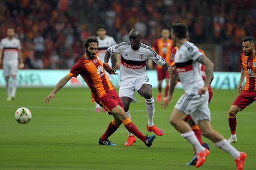 Beşiktaş'ı 2-0 yenen Galatasaray şampiyon gibi