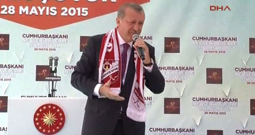 Erdoğan: Bir pop star çıkardılar, iyi saz çalıyormuş
