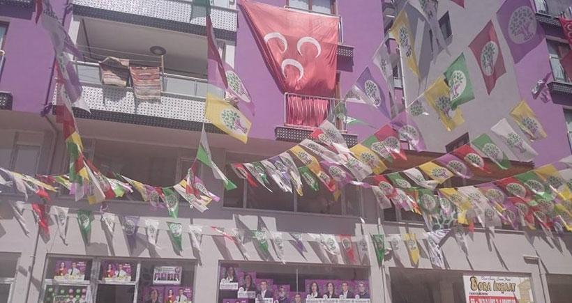 Osmaniye'de HDP algısı yıkıldı