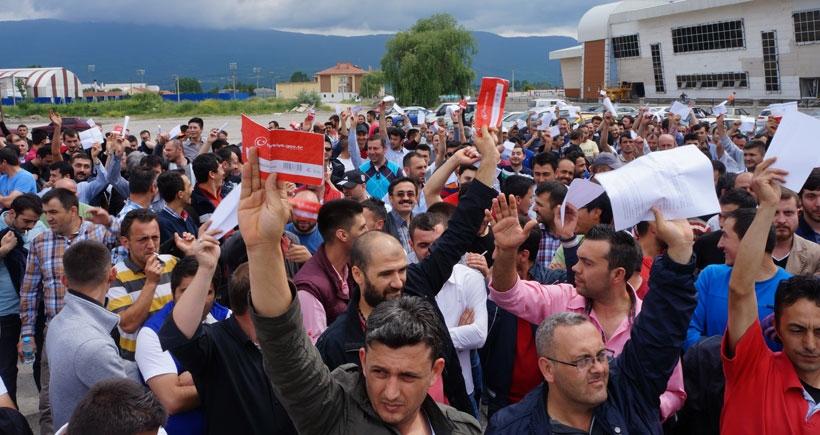 Bolu Arçelik'te işçi Türk Metal'i süpürdü