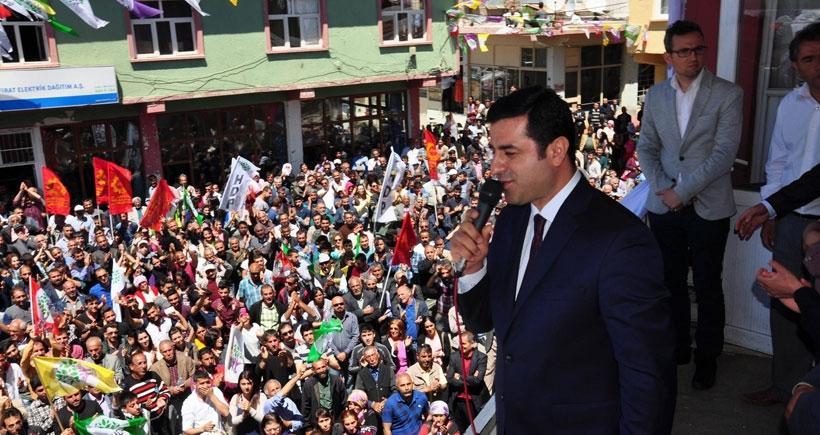 Dersim'de HDP, 2'yi zorluyor