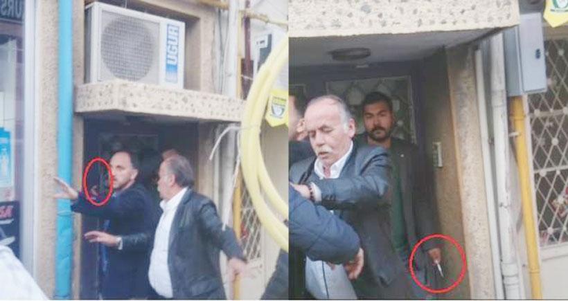 Isparta'da saldırıya uğrayan HDP'lilere polis silah çekti