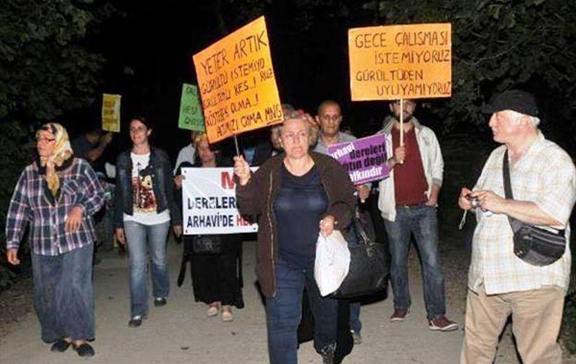 MNG'nin HES inadı protesto edildi