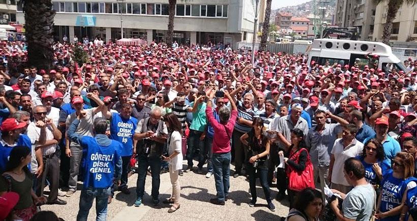 İZENERJİ'de grev öncesi son uyarı