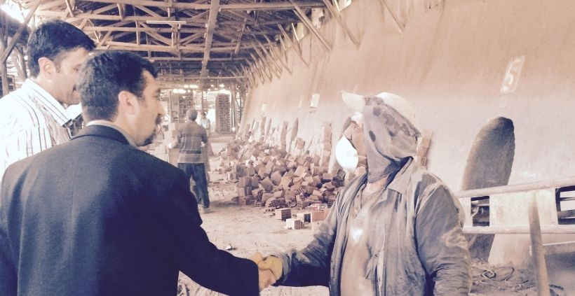 Elazığlı tuğla işçileri: Bizi tek HDP ziyaret etti
