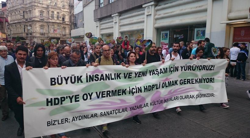 Aydınlar: HDP'ye oy vermek için HDP'li olmak gerekmiyor