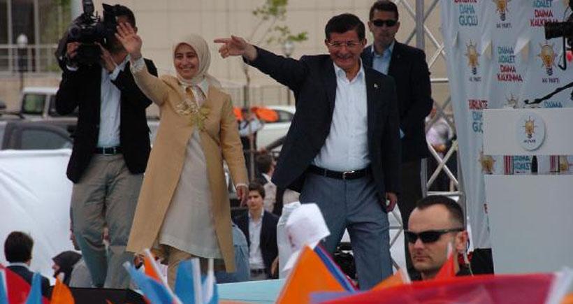 Davutoğlu HDP'yi hedef göstermeye devam etti