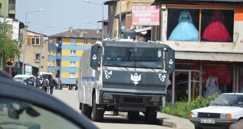 Erzurum'da Kürtlerin yaşadığı mahalle polis kuşatmasında