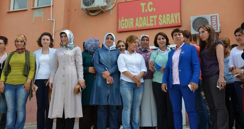 Iğdırlı kadınlar Erdoğan hakkında suç duyurusunda bulundu