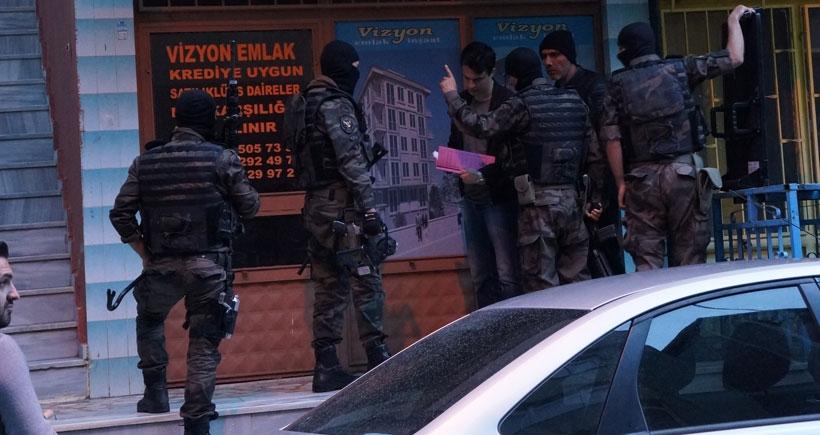 İstanbul'da HDP mitingi öncesi polis baskınları