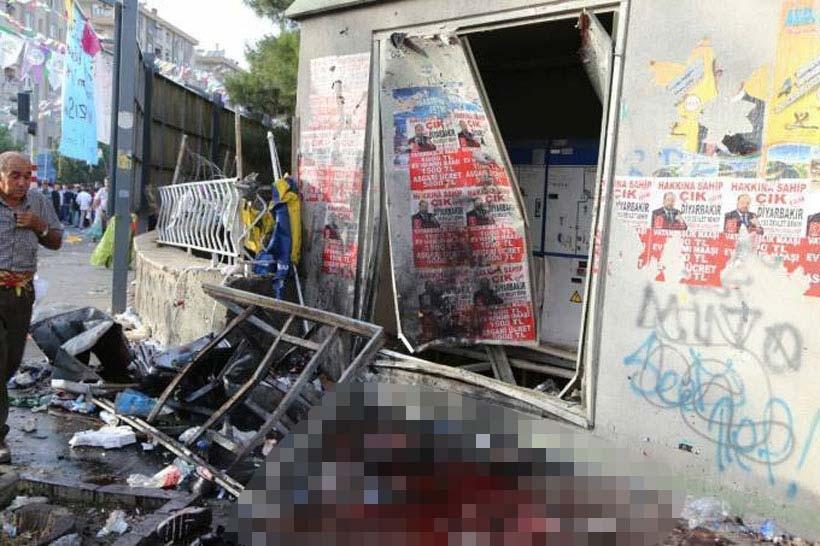 Diyarbakır'daki patlamanın nedeni ayakkabı kutusundaki bomba