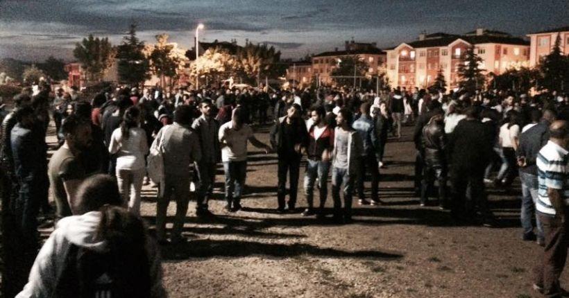 Eskişehir'de HDP kutlamasına silahlı gözdağı