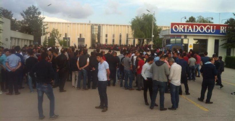 Şalter indiren ORS Rulman işçilerinin bekleyişi sürüyor