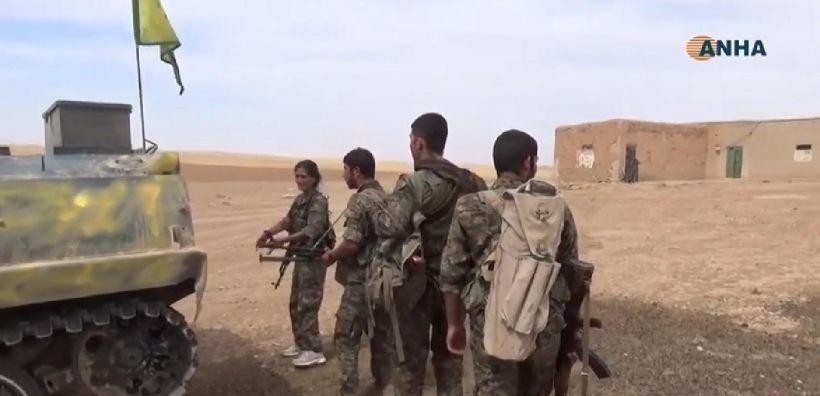 3 köyü daha kurtaran YPG Siluk'a ilerliyor