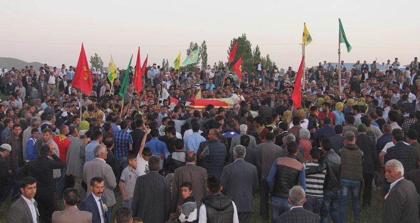 YPG'li Kaplan son yolculuğuna uğurlandı