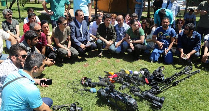 'Diyarbakır'da gazeteciler tehdit altında'